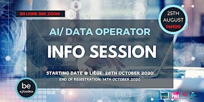 BeCode Liège – INFO SESSION AI / DATA OPERATOR – 25 août 2020, 14h00