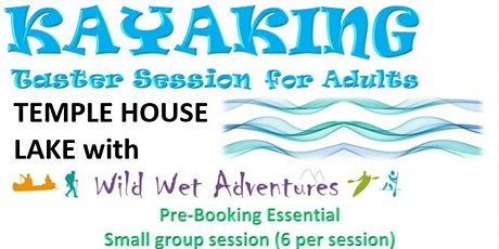 Kayaking Taster Session tickets