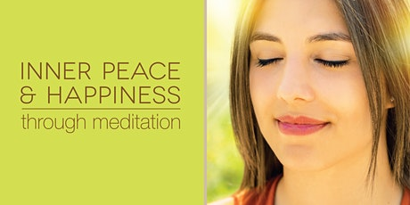 Inner Peace & Happiness through Meditation - Tues evening online classes tickets