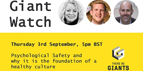 Building the foundations for a healthy culture with psychological safety tickets