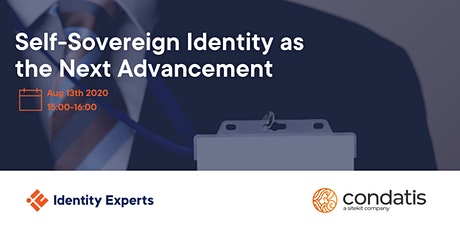 Self-Sovereign Identity as the Next Advancement tickets