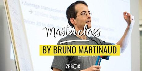 Masterclass by Bruno Martinaud tickets