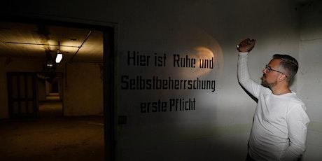 Führung durch den Frankfurter Weltkriegsbunker