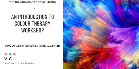 An introduction to colour therapy workshop tickets