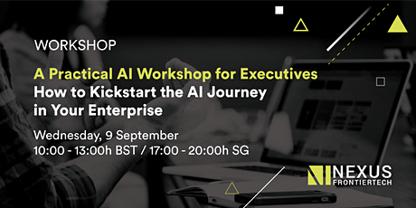 Workshop: How to Kickstart the AI Journey in Your Enterprise tickets