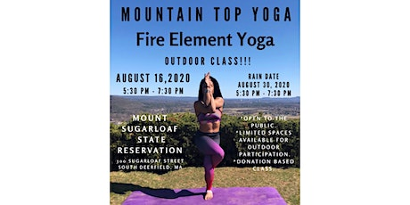Fire Element Yoga - Mountain Top Yoga tickets