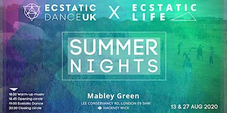 Ecstatic Dance UK X Ecstatic Life - SUMMER NIGHTS tickets