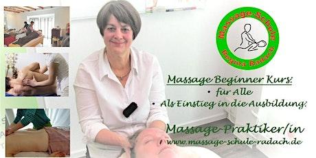Massage-Berührung braucht der Mensch! - Basis-Workshop Tickets