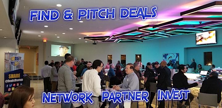 [ONLINE] Deals Meetup: Find & Pitch Deals * Network Partner Invest (FREE) image