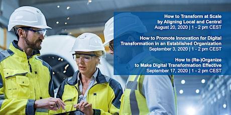 Capitalizing on Organizational Change in Digital Transformation biglietti