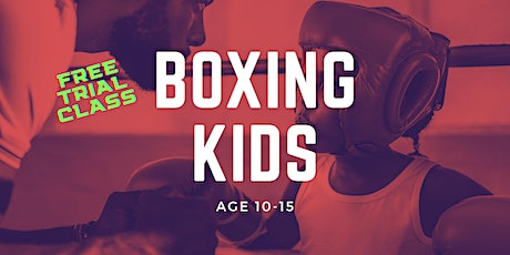 Boxing Kids Age 10-15 Trial Class at Fenriz Gym tickets