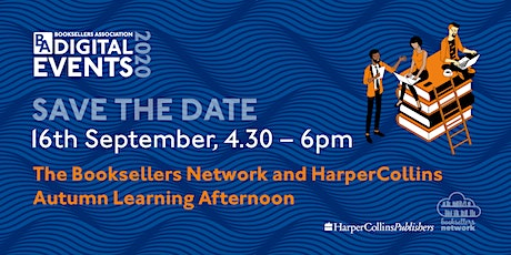 Booksellers Network & HarperCollins Virtual Learning Event tickets
