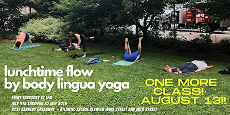 Lunchtime Flow by Body Lingua Yoga - ONE MORE CLASS!! tickets