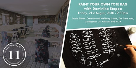 Paint Your Own Tote Bag with Dominika Stoppa tickets