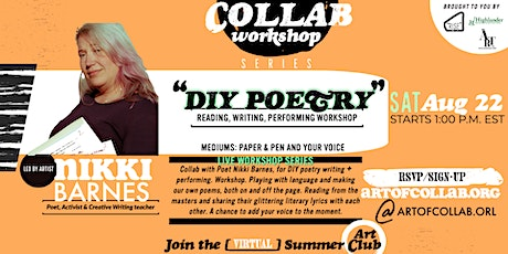 """DIY POETRY"" Workshop  w/Nikki Fragala Barnes tickets"