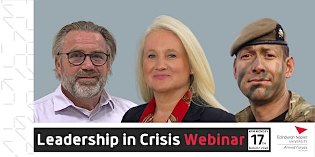 Webinar: Leadership in Crisis tickets