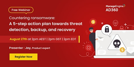 Countering ransomware: A 5-step plan towards threat detection and recovery tickets