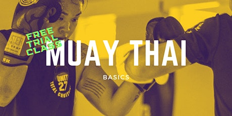 Muay Thai (Thaiboxing) Trial Class at Fenriz Gym Tickets
