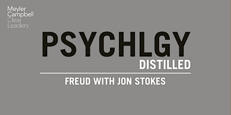 Psychology Distilled: Freud with Jon Stokes tickets