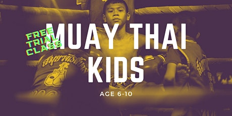 Muay Thai Kids Age 6-10 Trial Class at Fenriz Gym Tickets