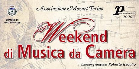 Concerto di docenti e allievi delle Masterclass di Musica da Camera tickets
