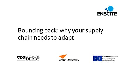 Bouncing back: why your supply chain needs to adapt tickets