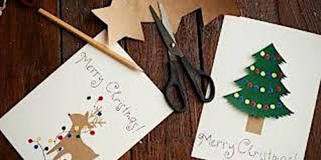 Kerstkaarten maken tickets