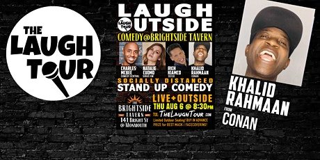 Laugh Outside! Comedy on the street @ Jersey City's Brightside tickets