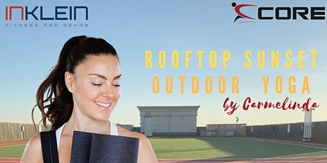 Rooftop Sunset Yoga with Carmelinda tickets