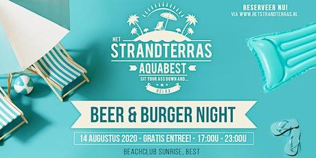 Beer & Burger Night 14 AUG. tickets