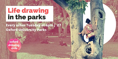 Life Drawing in the Parks tickets