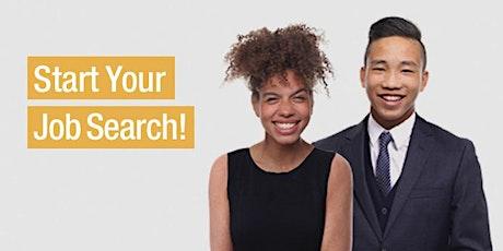 Jump-Start Your Job Search Express (Online Workshop)Fall 2020 tickets