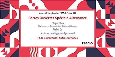 Portes Ouvertes spéciale alternance le samedi 05 septembre 2020 billets