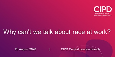 Why cant we talk about race at work? tickets