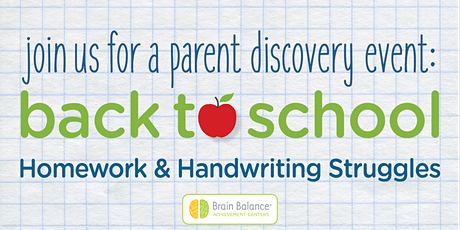 Back to school series: Homework & Handwriting Struggles tickets