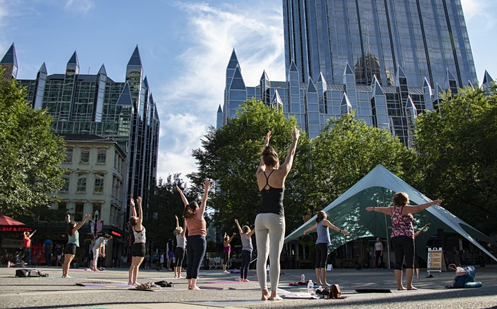 Yoga in the Square 2021 image