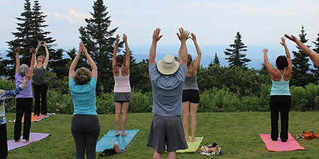 Free Yoga and Laughter in the Park tickets