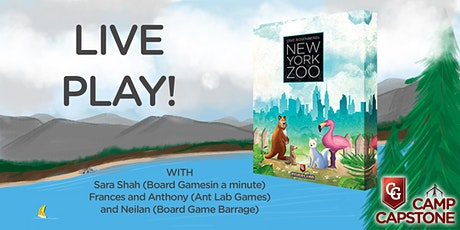 Live Play - New York Zoo tickets