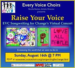 Raise Your Voice: EVC's Songwriting for Change Concert tickets