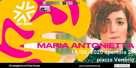 Maria Antonietta dal Vivo biglietti