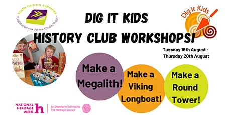 South Dublin Libraries and Dig It Kids Online History Club! tickets