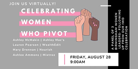Celebrating Women Who Pivot tickets