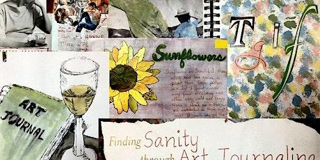 Art Journaling-ONLINE :Monday Oct 12,  6-8pm tickets