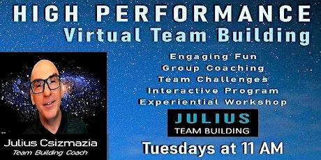 HIGH PERFORMANCE Virtual Team Building tickets