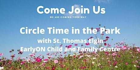 Circle Time at the Park - Pinafore Park  Celebration Pavilion  St. Thomas tickets