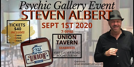 Copy of Steven Albert: Psychic Gallery Event Union Tavern tickets