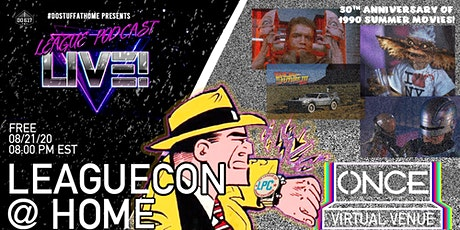 LeagueCon @ Home x ONCE VV tickets