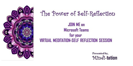 The Power of Self-Reflection Meditation tickets