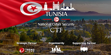Tunisia National Cybersecurity CTF 2020 tickets
