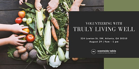 Volunteering with Truly Living Well tickets